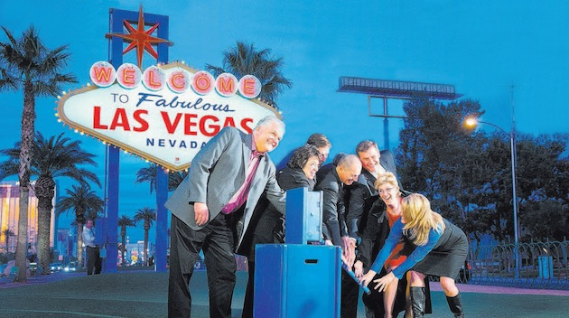 Green Chips Leads Way to Solar Powered Iconic Sign