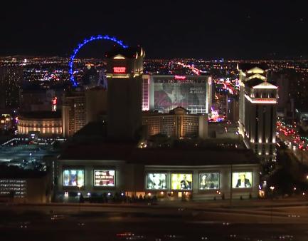 "Amazing Time Lapse of Las Vegas Strip ""Earth Hour"""