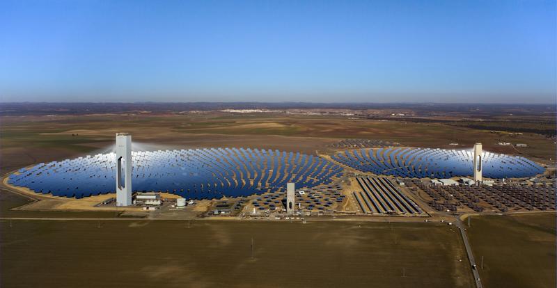 Advanced Solar Power Facility Under Construction
