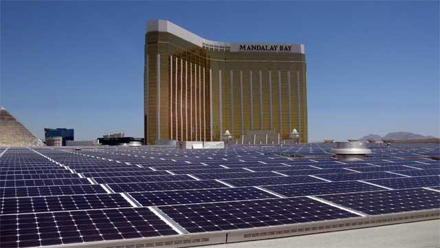 Mandalay Bay Solar Installation Gets Noticed