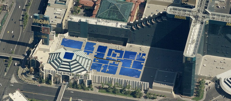 Las Vegas Hotels Have Major Solar Potential