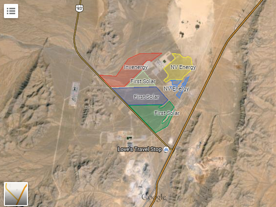 Three New Solar Projects for Southern Nevada