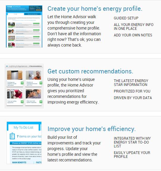 ENERGY STAR Home Advisor