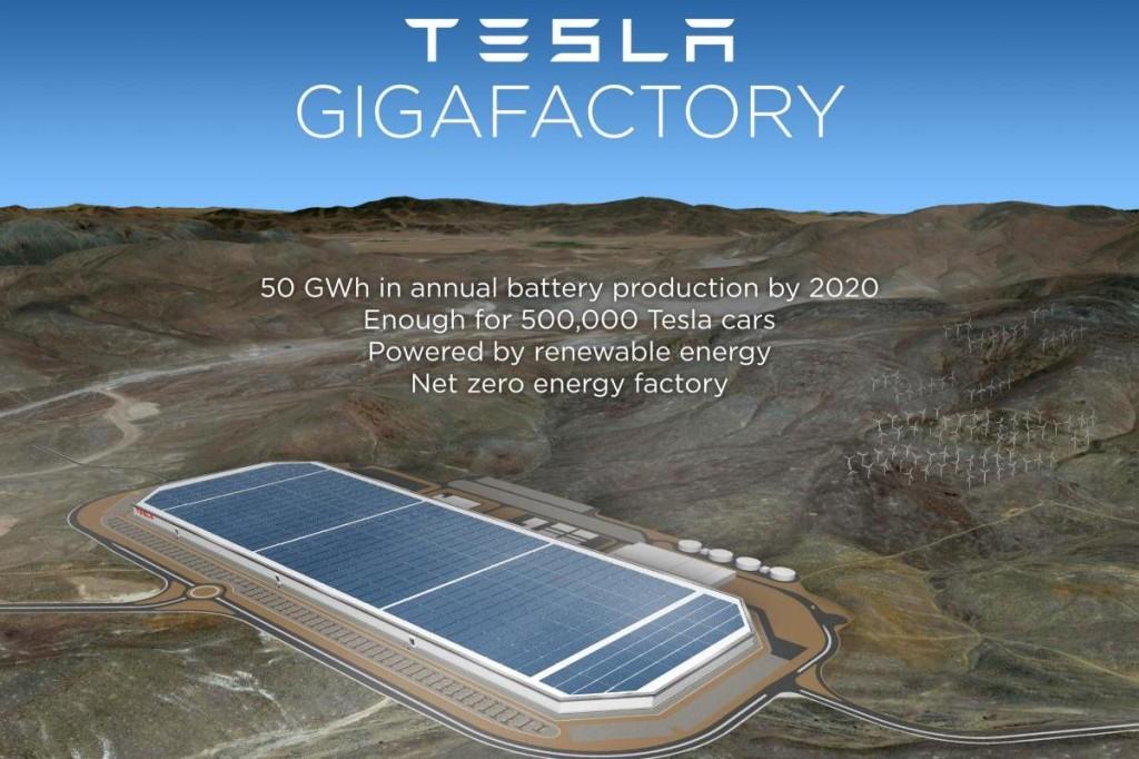 Nevada's Tesla Development Project Earns 2014 Economic Development Deal of The Year Award