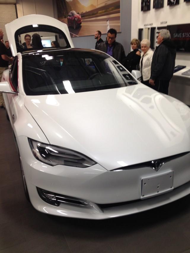 Green Alliance Mixer at the Tesla Showroom